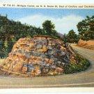 Curt Teich Hairpin Curve Grafton Clarksburg Postcard