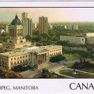 Manitoba Laminated Postcard RPPC Winnipeg Legislative Building