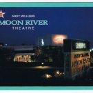 Missouri Postcard Branson Andy Williams Moon River Theatre