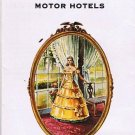 Vintage Travel Brochure 1950s Virginia Beach Martha Washington Motor Hotels