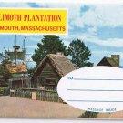 Massachusetts Postcard Plymouth Plimoth Plantation Multi Picture