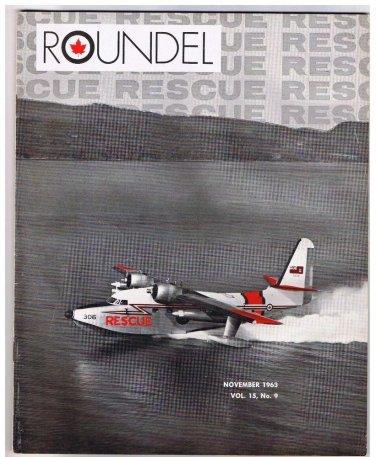 Roundel Royal Canadian Air Force November 1963 Search & Rescue Konigsberg Argot