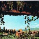 Spain Postcard Granada Alhambra General View from Generalife