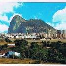 Gibralter Postcard La Linea de la Concepcion Partial View and Rock