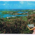 Bermuda Caribbean Islands West Indies Postcard Hamilton Harbour from Gibbs Hill