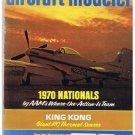 American Aircraft Modeler Magazine Dec 1970 King Kong Sundancer