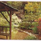 British Columbia Postcard Victoria Butchart Japanese Gardens