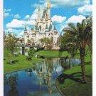 Florida Postcard Walt Disney Cinderella Castle Fantasyland