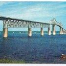 Rhode Island Postcard Jamestown Bridge Narragansett Bay