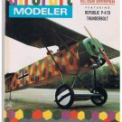 American Aircraft Modeler Magazine Sep 1968 Republic P-47D Thunderbolt Curtiss