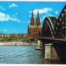 Germany Postcard Cologne Koln Am Rhein