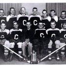 Ontario Hockey Team Black & White Photograph Laminated Vintage Photo