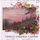 At Dawning I Love You Sheet Music Charles Wakefield Cadman