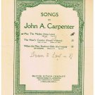May The Maiden Sheet Music Sidney Lanier John Carpenter