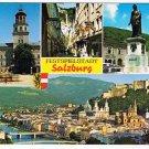 Austria Postcard Salzburg Multi Festspielstadt Hotel Auersperg