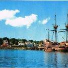 Plymouth Massachusetts Postcard Mayflower II Plymouth Harbor