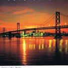 San Francisco California Postcard Oakland Bay Bridge