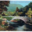 England Postcard Lynmouth Stone Bridge At Watersmeet