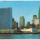 New York Postcard United Nations Building From East River