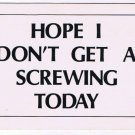 Comic Funny Postcard Screwing Today No 378 1975 Universal Crafts Toronto