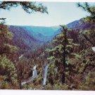 Arizona Postcard Oak Creek Canyon Switchback Road