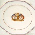 VINTAGE Coronation Plate John Hancock George VI Queen Elizabeth England