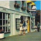New Brunswick Postcard St Andrews By The Sea Captains Loft