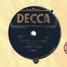 Jimmie Davis Is It Too Late Now 78 rpm There's A Chill On The Hill Tonight Decca