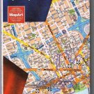Detroit Levonia Grosse Point Road Map 1999 MapArt
