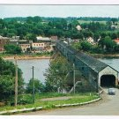 New Brunswick Postcard Hartland Worlds Longest Covered Bridge