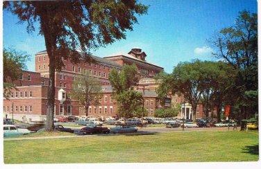 New York Postcard Albany Hospital