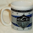 Orange County Choppers Mug Houston Harvest 2005 Blue Chopper New York City Logo