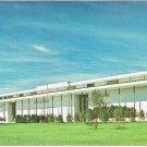 Washington DC Postcard John Kennedy JFK Center For Performing Arts Entrance