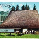 Quebec Postcard Montreal Expo 67 Pavilion Of The Western Provinces