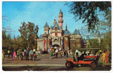 Florida Postcard Disneyland Sleeping Beauty's Castle