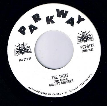 Chubby Checker The Twist 45 rpm The Hucklebuck Parkway NM