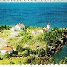 Ontario Postcard Manitoulin Island Mississaugi Light Meldrum Bay Point