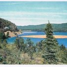 Ontario Postcard North Shore of Lake Superion CPR Route