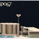 Quebec Postcard Montreal Expo 67 Canadian Pacific Cominco Pavilion