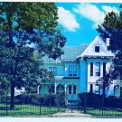 Independence Missouri Postcard President Harry Truman Home