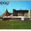Quebec Postcard Montreal Expo 67 Labyrinth Havre National Film Board