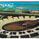 Quebec Postcard Montreal Expo 67 Automotive Stadium