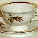 Jarolina China Demitasse Cup and Saucer Rosebuds Made In Germany