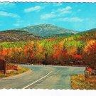 Maine Postcard Mt Cadillac Mt Desert Island