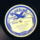 Don Hall Trio Strawberry Roan 78 rpm Dream Of Me Darling Tonight Bluebird