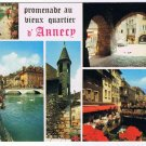 France Postcard Annecy Promenade Au Vieux Quartier Multi Old Quarter