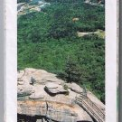 Southeastern States Road Map 1991 Cover Chimney Rock North Carolina