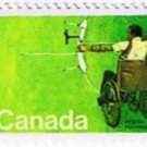 Canada 20c 1976 Handicapped Olympics Single MNH Scott 694