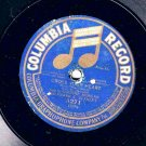 Corrine Morgan Cross Your Heart 78 rpm Cal Stewart Uncle Josh &  Fire Department