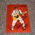 Teddy Bair The Gospel Elvis signed inscribed photo